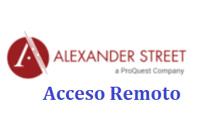 Alexander Street-AR